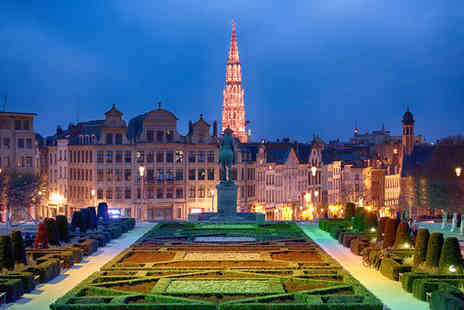 Hotel NH Brussels Grand Place Arenberg - Four Star Superb Location in City Centre Stay For Two - Save 74%