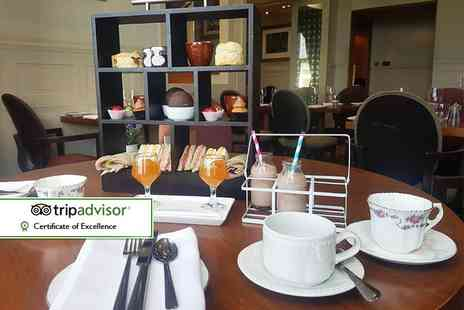 Fairfield House Hotel - Chocolate afternoon tea for two including a cocktail each - Save 0%
