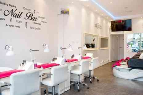 Battersea Nails & Beauty - Gel Polish or Manicure, Pedicure or Both with Optional Gel or Shellac Polish  - Save 58%