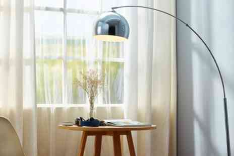 Groupon Goods Global GmbH - Versanora Arc Floor Lamps With Free Delivery - Save 48%