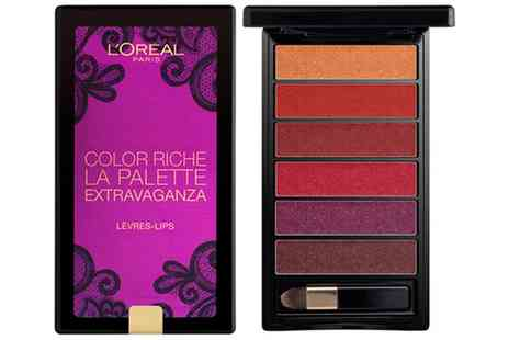 Groupon Goods Global GmbH - One or Two LOreal Extravaganza Lip Palettes - Save 62%