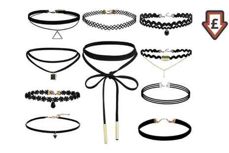 Groupon Goods Global GmbH - One, Two or Three Ten Piece Choker Sets - Save 84%