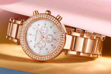 Deal Of Fame - One or Two Timothy Stone Desire Womens Watches with Crystals from Swarovski With Free Delivery - Save 83%