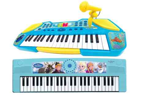 Groupon Goods Global GmbH - Lexibook Frozen Electronic Keyboard or Finding Dory Electronic Keyboard with Microphone - Save 16%