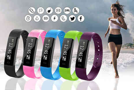 Ugoagogo - VeryFit 14 in 1 wireless fitness tracker bracelet - Save 88%