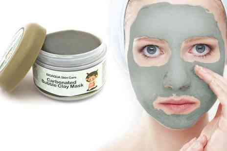 Ckent - Carbonated clay face mask - Save 60%