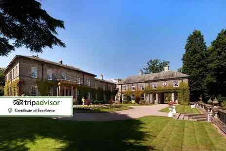 Doxford Hall Hotel & Spa - Spa day for one including a two course lunch - Save 55%