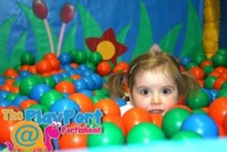 The Playport - Soft Play Area Family Entry With Kids Meals  - Save 58%