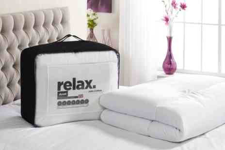 Groupon Goods Global GmbH - John Cotton Relax Duvet in 10.5, 13.5, 15 Tog - Save 74%