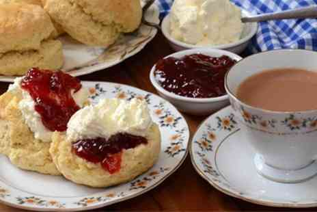 Ellas Cafe - Cream Tea for Two or Four - Save 46%