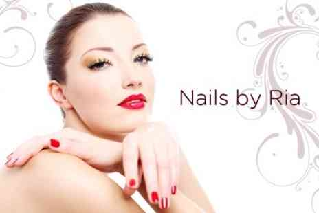 Nails By Ria - Pedicure and Luxury Manicure - Save 62%