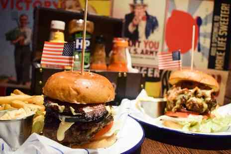 Propaganda - Burger, Fries and Cocktail Each for Two or Four - Save 57%