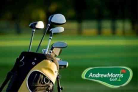 Andrew Morris Golf - Custom Golf Club Fitting Session - Save 75%
