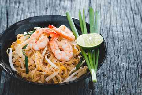 The Social - Two Course Thai Meal for Two or Four - Save 43%