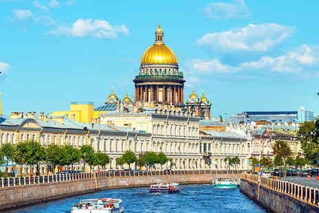 Crowne Plaza - Four Star Elegance in Russia's Cultural Capital For Two - Save 35%