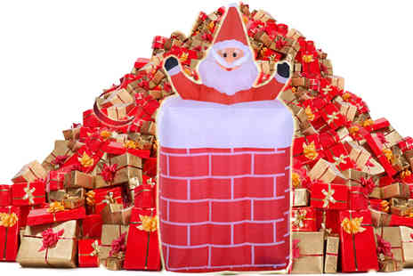 Mhstar - Airblown Christmas Inflatable Santa Claus - Save 24%