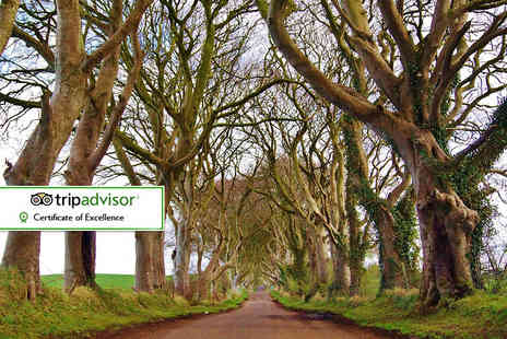 The Dark Hedges Estate - One or two night stay for two people with breakfast, a bottle of wine on arrival and late check out - Save 39%