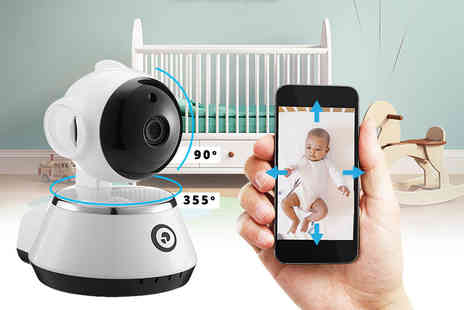 Nex Buy - 360 Degree smart rotate and tilt baby and pet monitor or monitor with SD card - Save 0%