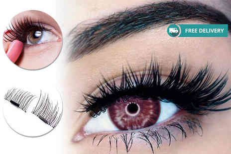 Alvis Fashion - Eight magnetic eyelashes extensions Plus Delivery is Included - Save 84%