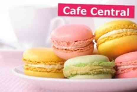 Cafe Central - Macaron Making Workshop With Tea and Cakes For Two - Save 0%
