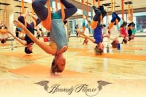 Heavenly Fitness - Two Anti Gravity Yoga Classes - Save 58%
