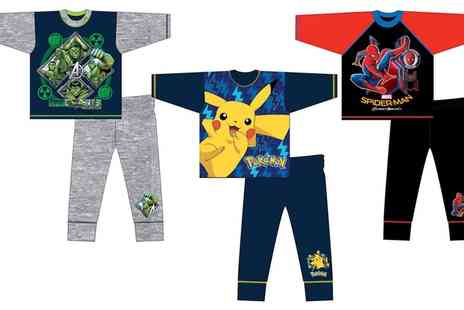 Groupon Goods Global GmbH - Boys Character Themed Pyjamas - Save 63%