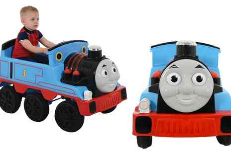 Groupon Goods Global GmbH - Thomas and Friends 12V Battery Operated Engine Ride On With Free Delivery - Save 0%