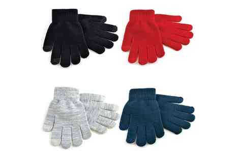 Groupon Goods Global GmbH - Unisex Touchscreen Gloves - Save 0%
