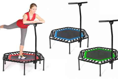 Groupon Goods Global GmbH - SportPlus Fitness Trampoline With Free Delivery - Save 21%