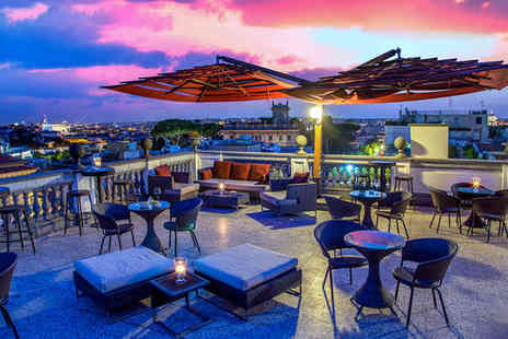 Hotel Savoy - Four Star Rooftop Views of the Eternal City For Two - Save 79%