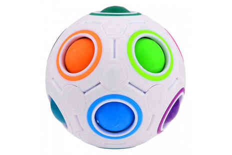 Ugoagogo - Rainbow Magic Puzzle Ball - Save 65%