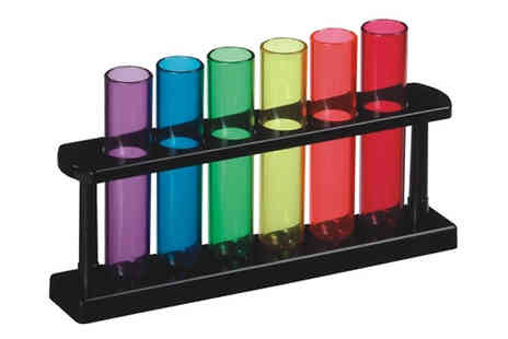 Direct 2 public - Set of 6 Test Tube Shooters - Save 83%