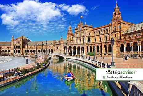 Super Escapes Travel - Two night Seville City Break including breakfast and flights - Save 50%