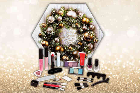 Beauty Shop 4 U - Technic Christmas cosmetic advent calendar - Save 81%