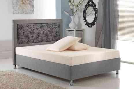 My Mattress Online - Single small double or double or king size memory foam mattress and pillow - Save 76%