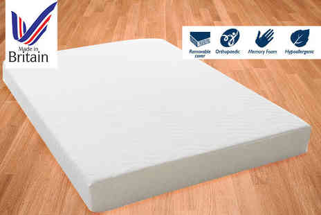My Mattress Online - Double or king size quilted eco reflex memory foam mattress - Save 85%