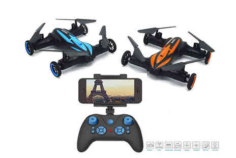 Toys Wizard - Remote controlled flying quadcopter drone or drone with camera - Save 61%