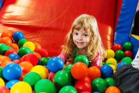 Jungle Kids - Soft Play Area Entry for Up to Six with a Meal Each - Save 72%