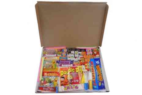 Groupon Goods Global GmbH - Retro Sweet Letterbox Buster Hamper - Save 50%