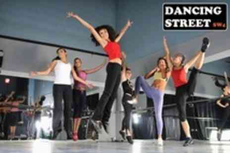 Dancing Street SW4 - Four 60 Minute Zumba or Dance Fitness Classes - Save 58%