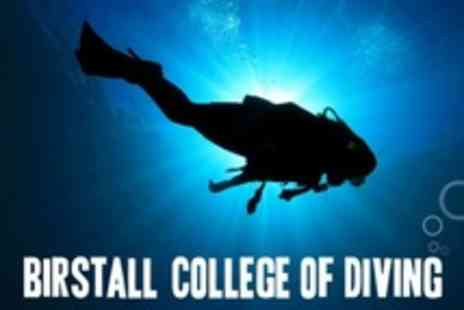 Birstall College of Diving - Four Day Scuba Diving PADI Open Water Course - Save 60%