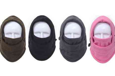 Groupon Goods Global GmbH - One, Two, Three or Four Six in One Thermal Winter Hats - Save 73%