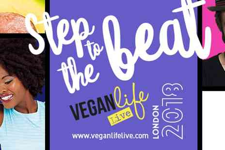 Vegan Life - Two day tickets to Vegan Life Live on 10 To 11 February 2018 - Save 54%