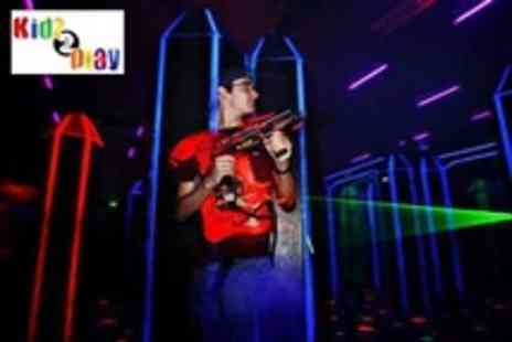 Kidz 2 Play - Two 30 Minute Laser Tag Sessions For Four People - Save 67%