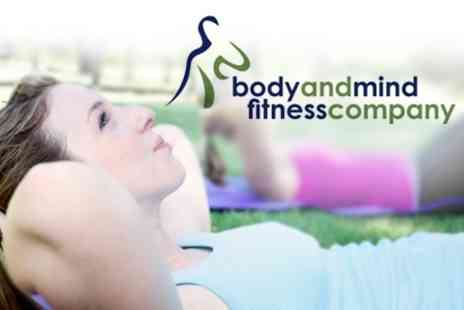 Body And Mind Fitness Company - Ten Outdoor Fitness Classes - Save 81%