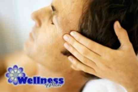 Wellness 4 Men - Indian Head Massage With Waxing on Two Areas - Save 78%