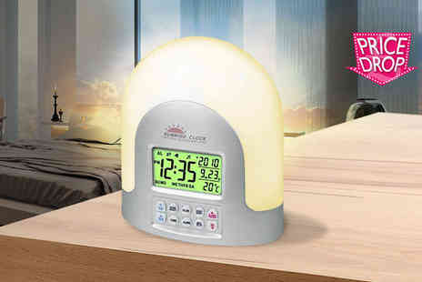 Zoozio - LED sunrise alarm clock - Save 74%