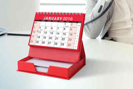 London Exchain Store - Desktop monthly calendar memo pad - Save 60%