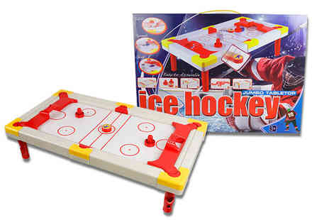 Jones & Jacks - Tabletop super ice hockey game - Save 28%