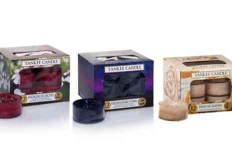 Groupon Goods Global GmbH - Yankee Candle 36 Scented Tealights Set - Save 52%